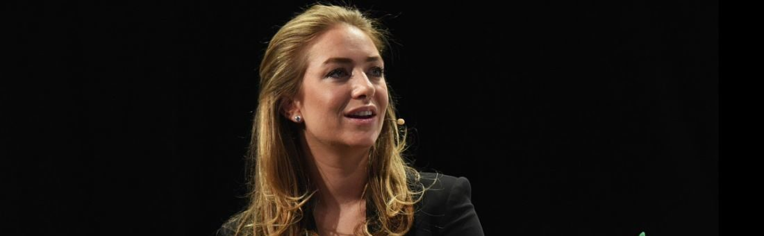 Whitney Wolfe Herd, a Bumble alapítója. Fotó: Noam Galai/Getty Images for TechCrunch / Wikipedia