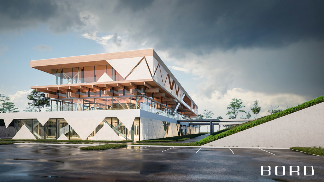 Inno 05N 01 - Debrecen Innovation Center, Cutting Edge + Modern